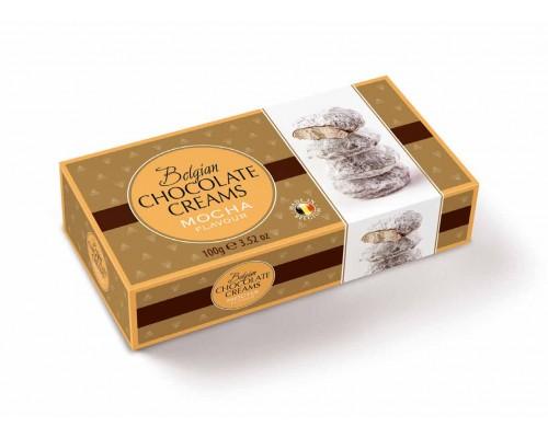Geldhof Снежки Кремовые шоколадные конфеты со начинкой кофе мокко 100г