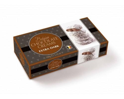 Geldhof Снежки Кремовые шоколадные конфеты с начинкой темного шоколада 100г