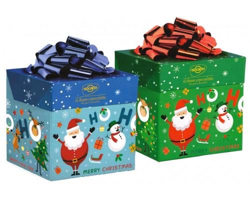 Шоколадные конфеты SOCADO Счастливого Рождества куб 250гр