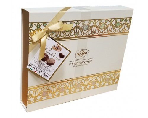 Шоколадные конфеты ассорти Сокадо Драгоценность 250 гр