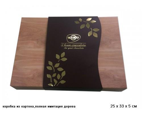 Сокадо Вуден Бокс шоколадные конфеты ассорти 350 гр