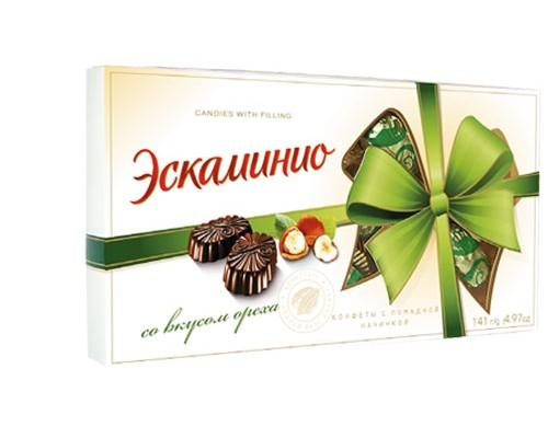 Спартак Шок.конфеты Эскаминио 141г вкус ореха
