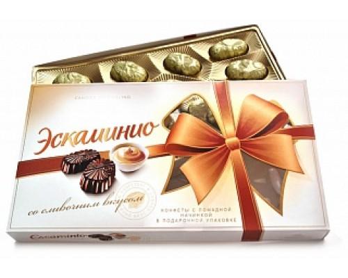 Спартак Шок.конфеты Эскаминио 141г сливочный вкус