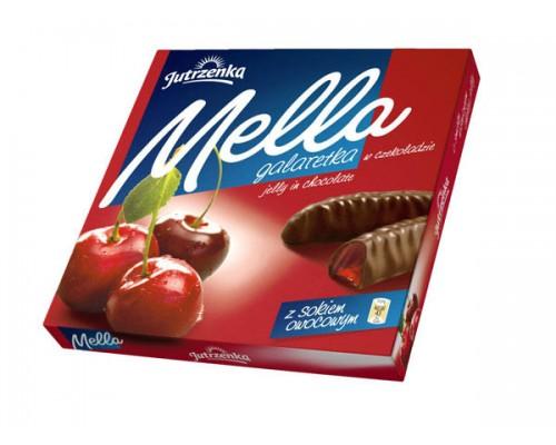 Мелла Вишня мармелад в шоколаде 190 гр