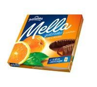 Мармелад в шоколаде Мелла Апельсин 190 гр