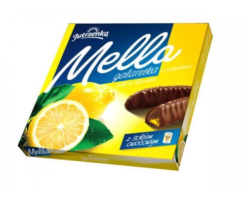 Мармелад в шоколаде Мелла Лимон 190 гр
