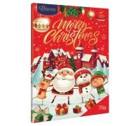 """Шоколадный набор Baron """"Новогодний Календарь"""" 75гр"""