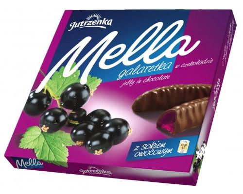 Мармелад в шоколаде Мелла Смородина 190 гр