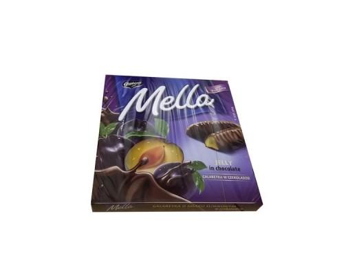 Мелла Слива мармелад в шоколаде 190 гр
