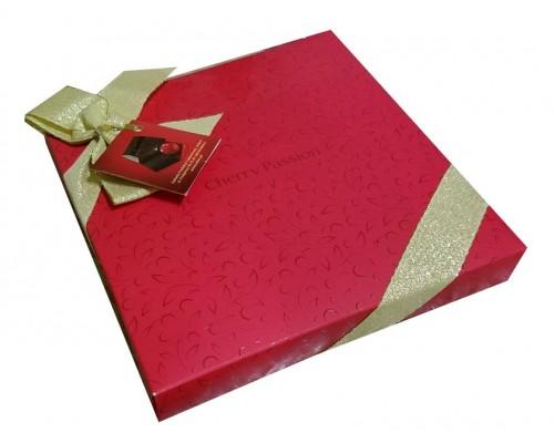 Вобро Вишневая страсть  шоколадные  конфеты картон 138 гр