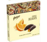 Мармелад в шоколаде Goplana Апельсин 190гр