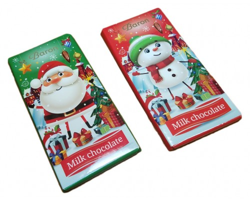 "Молочный шоколад Milano ""Детский"" НГ 90гр"