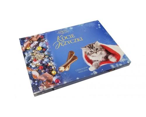 Барон Кошачьи язычки шоколадные конфеты  100 гр