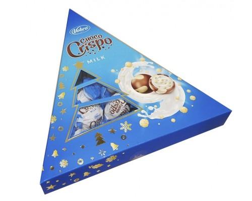 Шоколадные конфеты Vobro Елка Шоко Крипсы 112г