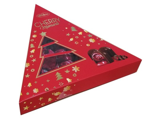 Шоколадные конфеты Vobro Елка Черри Моментс 126г