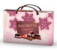 Шоколадные  конфеты Mieszko Amoretta Desserts с сумочкой 276 гр