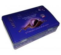 Шоколадные конфеты Mieszko Слива в шоколаде жесть 325 гр.