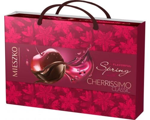 Шоколадные конфеты ассорти Mieszko Cherrissimo Classic с сумочкой  285г