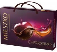 Шоколадные конфеты ассорти Mieszko Cherrissimo Exclusive с сумочкой  285г