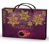 Шоколадные конфеты ассорти Mieszko Cherrissimo Exclusive с сумочкой  285 гр