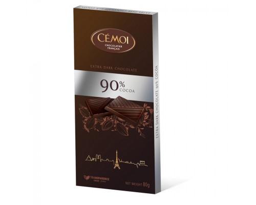 Шоколад  горький CEMOI 90% 80гр