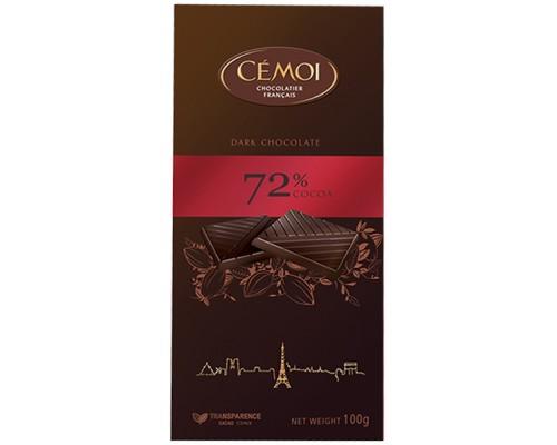 Семуа горький шоколад 72% 100гр