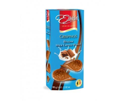 Элдфейн чипсы молочный шоколад 80г