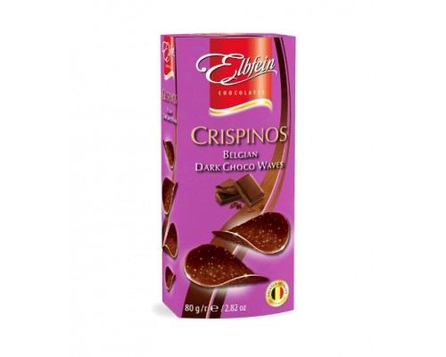 Элдфейн чипсы горький шоколад  80г