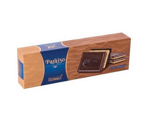 Печенье с шоколадом Farmand Параисо 125гр