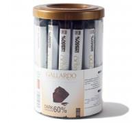 Шоколадные палочки Gallardo из темного шоколада 10гр