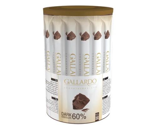Шоколадные палочки Gallardo из темного шоколада 10гр[1/30шт]
