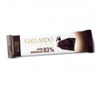 Шоколад горький Gallardo 83% 23гр