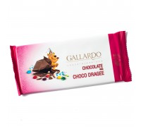 Шоколад молочный Gallardo с драже 65гр