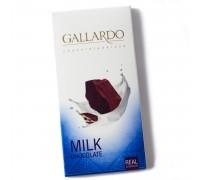 Шоколад молочный Gallardo 100гр
