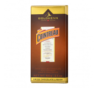 Шоколад молочный  Goldkenn Cointreau с ликером 100гр