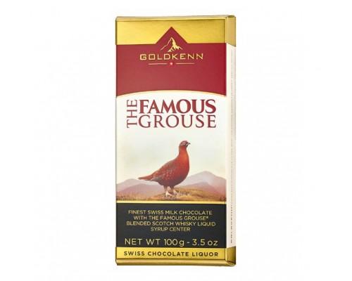 Шоколад молочный  Goldkenn Famous Grouse с шотландским виски 100гр