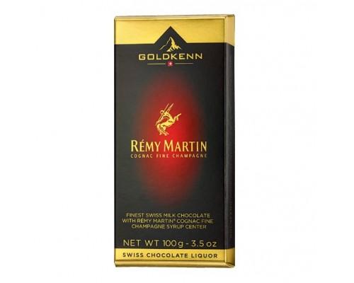 Шоколад молочный  Goldkenn Remy Martin с коньяком 100гр