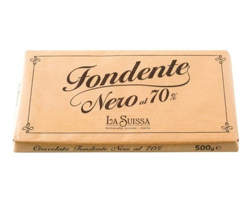 Шоколад  Горький LA SUISSA 70 % 500гр