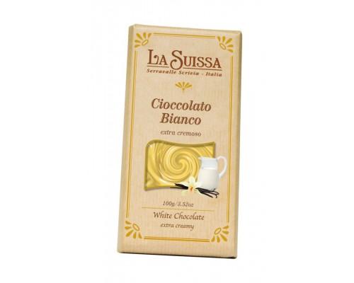 Шоколад Белый LA SUISSA extra creamy 100гр