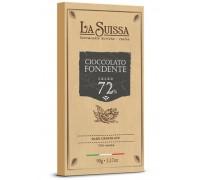 Шоколад Горький LA SUISSA 72% 90гр