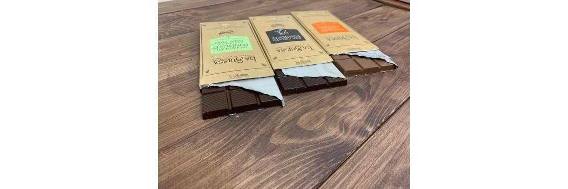 Шоколад La Suissa в новом дизайне!