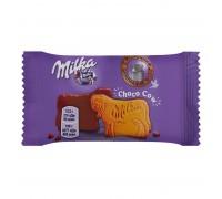 Печенье Milka Choco Cow  в молочном шоколаде из альпийского молока 40 гр