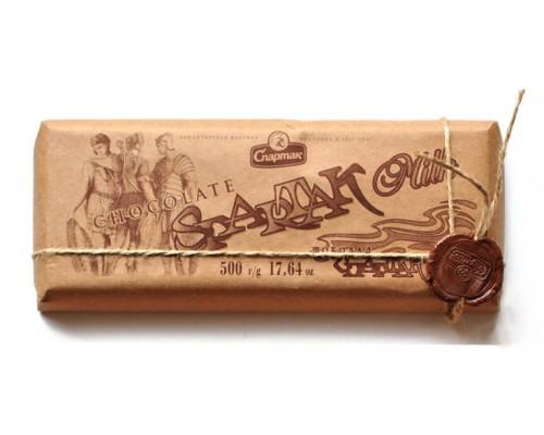 """СПАРТАК Шоколад  """"Молочный"""", эт.крафт 500г"""