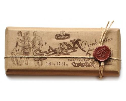 "СПАРТАК Шоколад  ""Горький"" 56%, эт.крафт 500г"