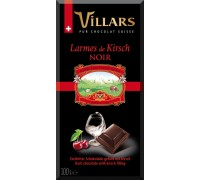 Шоколад Швейцарский Тёмный с вишнёвым бренди 100 гр
