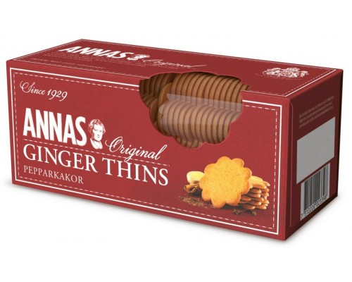 "Печенье""ANNA'S"" имбирное тонкое 150гр"