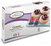 """Печенье Амброзиана """"Джемме"""" с начинкой из лесных ягод (Gemme frutti di bosco) 150г"""