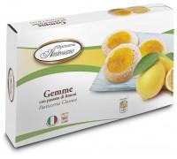 """Печенье Амброзиана """"Джемме"""" с лимонной начинкой (Gemme di limoni) 150г"""