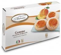 """Печенье Амброзиана  """"Джемме"""" с абрикосовой начинкой (Gemme di albicocche) 150г"""