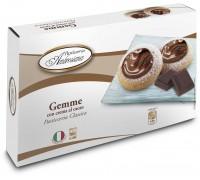 """Печенье  Амброзиана """"Джемме"""" с начинкой какао (Gemme con crema al cacao) 150г"""
